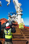 On board the Boa Sub C Multi purpose Offshore Vessel