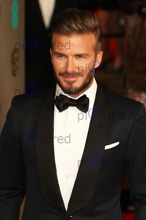 David Beckham, EE British Academy Film Awards (BAFTAs), Royal Opera House Covent Garden, London UK, 08 February 2015, Photo by Richard Goldschmidt