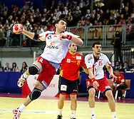 GEPA-24011079130 - INNSBRUCK,AUSTRIA,24.JAN.10 - SPORT DIVERS, HANDBALL - EHF Europameisterschaft, EURO 2010, Laenderspiel, Polen vs Spanien. Bild zeigt Bartosz Jurecki (POL). Foto: GEPA pictures/ Amir Beganovic.FOT. GEPA / WROFOTO.*** POLAND ONLY !!! ***