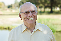 Portrait of senior man, smiling