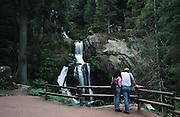 Deutschland, Germany,Baden-Wuerttemberg.Schwarzwald.Triberg, Triberger Wasserfälle.Triberg, Triberg waterfall...