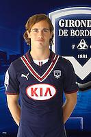 Lucas ORBAN - 13.09.2013 - Photo officielle Bordeaux - Ligue 1<br /> Photo : Icon Sport