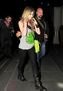 01.JUNE.2011. LONDON<br /> <br /> AVRIL LAVIGNE LEAVING HER LONDON HOTEL TO GO TO THE SOHO HOTEL FOR SOME DRINKS BEFORE HEADING BACK TO HER HOTEL AT 1.30AM.<br /> <br /> BYLINE: EDBIMAGEARCHIVE.COM<br /> <br /> *THIS IMAGE IS STRICTLY FOR UK NEWSPAPERS AND MAGAZINES ONLY*<br /> *FOR WORLD WIDE SALES AND WEB USE PLEASE CONTACT EDBIMAGEARCHIVE - 0208 954 5968*