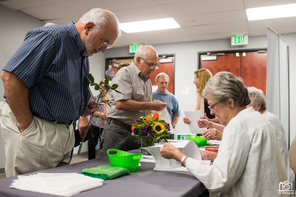Good Samaritan Hospital hosts their Cancer Survivor Reception at Addison-Penzak Jewish Community Center of Silicon Valley in Los Gatos, California, on June 15, 2017. (Stan Olszewski/SOSKIphoto)