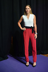 SINGAPORE, Oct. 20, 2017  Denmark's Caroline Wozniacki poses for a photo during the WTA Finals official draw ceremony held in Singapore on Oct. 20, 2017. (Credit Image: © Then Chih Wey/Xinhua via ZUMA Wire)