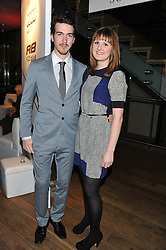 JOSHUA HILL and VERONICA WESOLOWSKI at the Motor Sport magazine's 2013 Hall of Fame awards at The Royal Opera House, London on 25th February 2013.