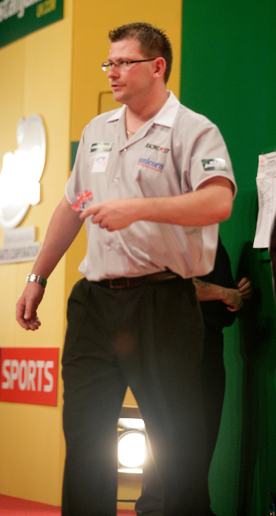 JAMES WADE,DARTS,WORLD MATCHPLAY,BLACKPOOL,WINTER GARDENS,PDC