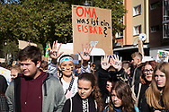 September 20, 2019 - Cologne, Germany. Fridays for Future climate strike. Global day of action initiated by young people calling for a radical change in climate policy.<br /> <br /> 20. September 2019 - Koeln, Deutschland. Fridays for Future Klimastreik. Globaler Aktionstag von Jugendlichen, die einen radikalen Wandel in der Klimapolitik fordern.