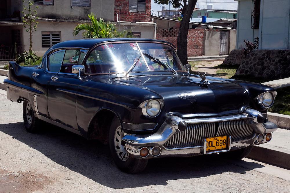 Old car in Puerto Padre, Las Tunas, Cuba.