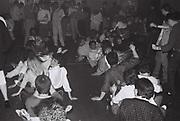 """Oops upside your head"" dance, London, UK, 1986."