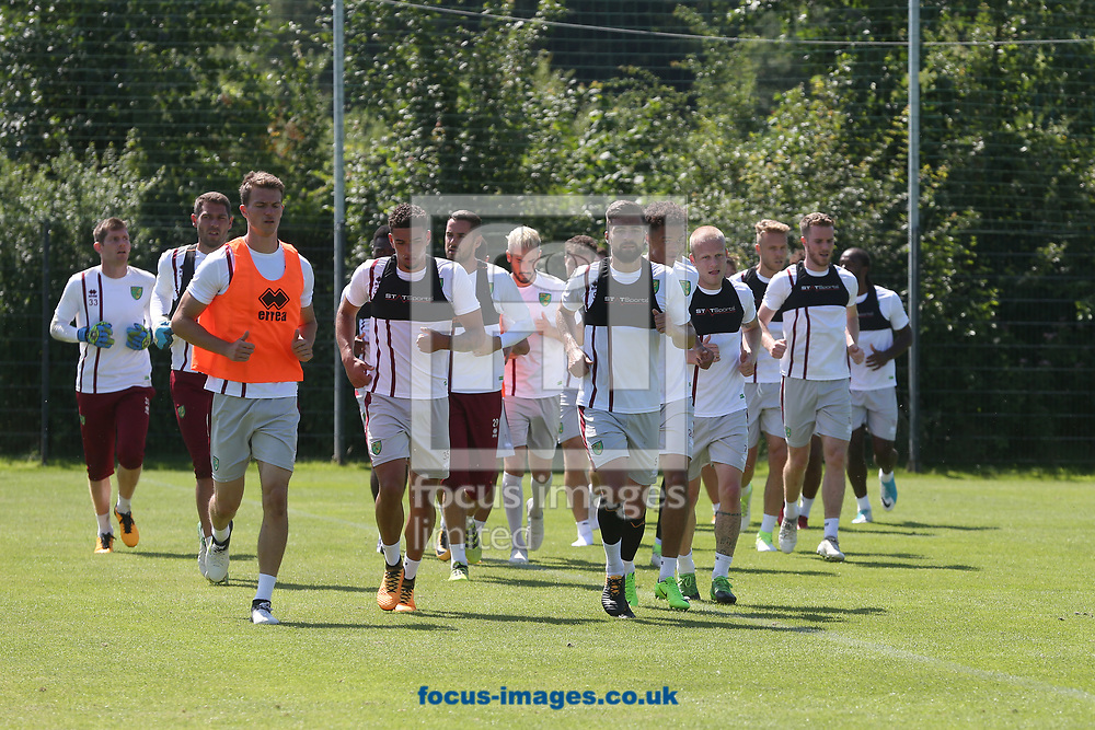 The Norwich players during the Norwich City Pre-Season Training session at Hotel Klosterpforte, Harsewinkel, Germany<br /> Picture by Paul Chesterton/Focus Images Ltd +44 7904 640267<br /> 18/07/2017