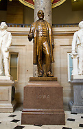 The Samuel Jordan Kirkwood statue in National Statuary Hall in the United States Capitol building in Washington, D.C. on Monday, June 27, 2011.