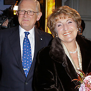 NLD/Amsterdam/20111026- Jubileumconceert Christina Deutekom, aankomst Prinses Margriet en haar partner Mr. Pieter van Vollenhoven