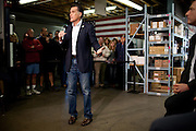 GOP presidential candidate Mitt Romney speaks to employees at Western Nevada Supply in Sparks, Nev., February 3, 20112.