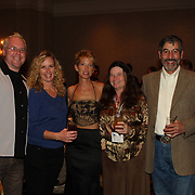 Jon McCormick, Vanessa McCormick, Jill Wagenknecht, Leslie Granger and Donald Granger at the 2007 USEA Convention and awards dinner in Colorado Springs, CO, USA