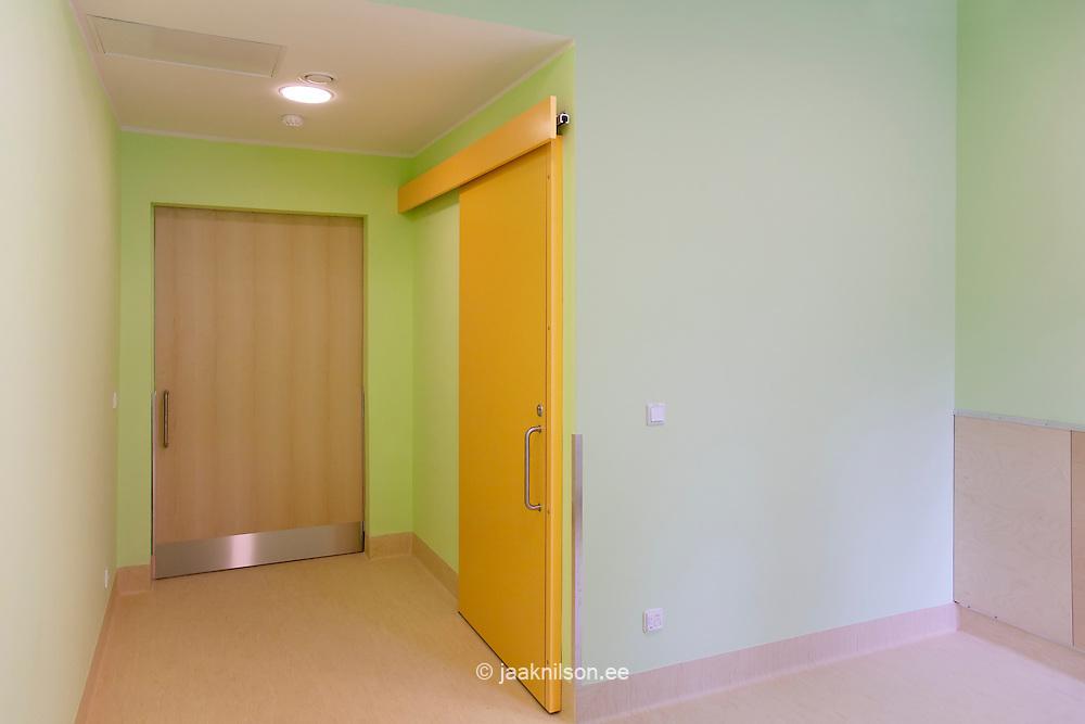 empty hospital room interior