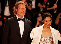 Venice, Italy, 29th August 2019, Brad Pitt, Ruth Negga <br /> at the gala screening of the film Ad Astra at the 76th Venice Film Festival, Sala Grande. Credit: Doreen Kennedy/Alamy Live News