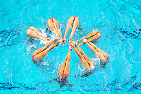 EINDHOVEN  EK Synchrone zwemmen Eindhoven 2012