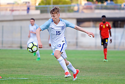 AUBAGNE, FRANCE - Monday, May 29, 2017: England's Daniel Kemp during the Toulon Tournament Group A match between England U18 and Angola U20 at the Stade de Lattre-de-Tassigny. (Pic by David Rawcliffe/Propaganda)
