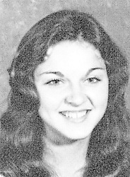 1974, Rochester, Michigan, U.S. - Yearbook photo of MADONNA, then known as Madonna Louise Cicone, from Adams High School, 1974. Madonna, the American singer, songwriter, actress, and businesswoman was born August 16, 1958. Referred to as the ''Queen of Pop'' since the 1980s, Madonna is known for pushing the boundaries of lyrical content in mainstream popular music, as well as visual imagery in music videos and on stage. Frequently reinvented both her music and image while maintaining autonomy within the recording industry. Besides sparking controversy, her works have been praised by music critics. Madonna is often cited as an influence by other artists.<br />