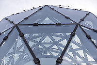 Modern Architecture Photography has brought photographers from around the US to the Salvadore Dali Museum in St. Petersburg, Florida. I was drawn to this perspective of the geodesic glass windows designed by Yann Weymouth.