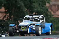 #15 David YATES Caterham  during Toyo Tires 7 Race Series  as part of the MSVR MINI Festival at Oulton Park, Little Budworth, Cheshire, United Kingdom. July 21 2018. World Copyright Peter Taylor/PSP. Copy of publication required for printed pictures.