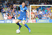 Barry Fuller (Captain) defender for AFC Wimbledon (2) in action during Sky Bet League 2 match between AFC Wimbledon and Newport County at the Cherry Red Records Stadium, Kingston, England on 7 May 2016. Photo by Stuart Butcher.