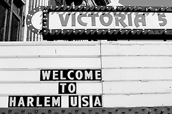 Welcome to Harlem USA Marquee
