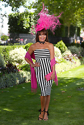 Lizzie Cundy during day three of Royal Ascot at Ascot Racecourse.