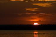 Sunrise over Lake Brownwood, TX