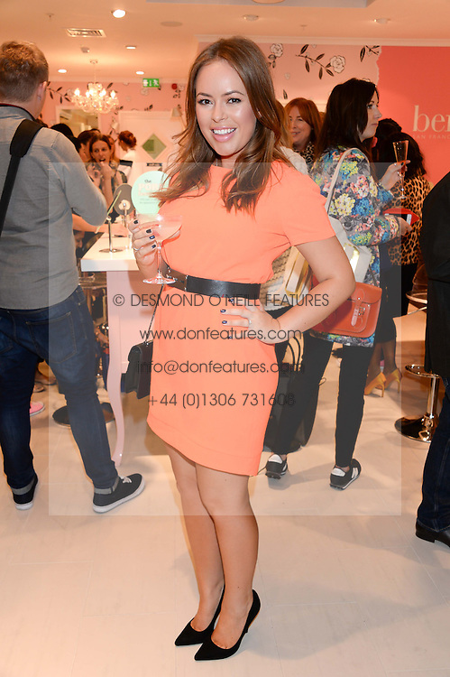 TANYA BURR at the launch of the Benefit Global Flagship Boutique at 10 Carnaby Street, London on 11th September 2013.