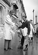 It was just another paper sold on O'Connell Street for Joe Treacy until he looked up at the customer: James Stewart.<br />