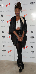 Chalin from Juce attends March of the Mods launch party to celebratethe launch of  Richard Weight's new Green Label Collection and book at Gibson Lounge, Eastcastle Street, London, W1 on Wednesday 11 February 2015