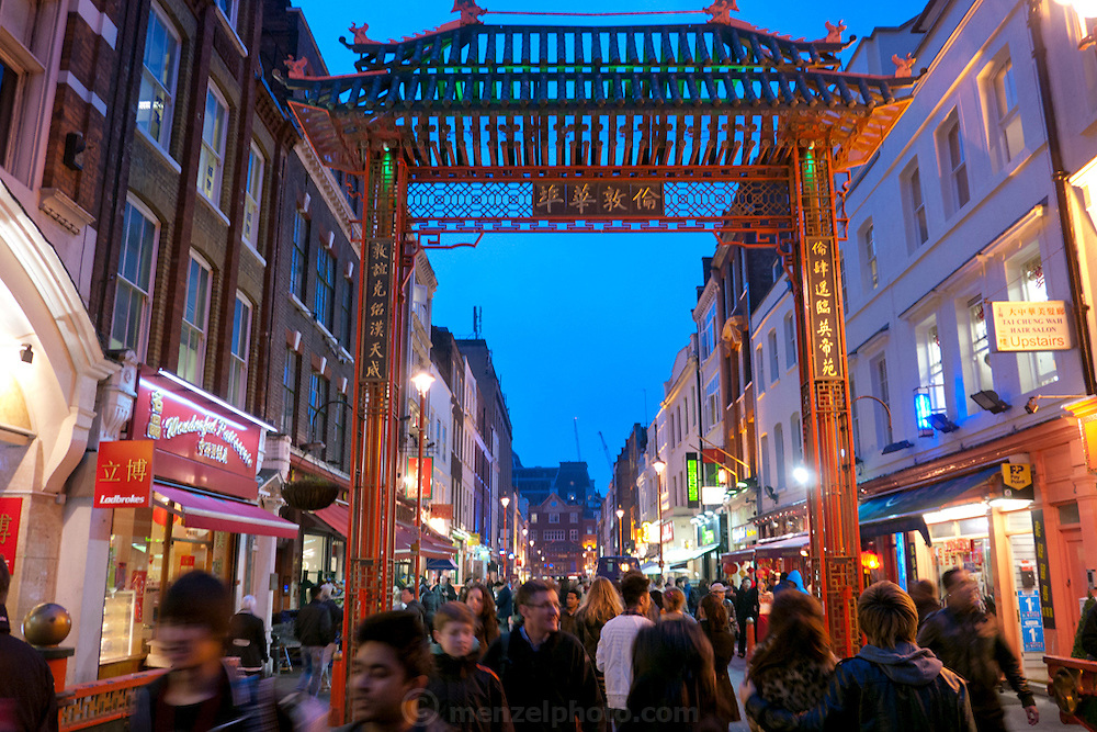 Chinatown, London, UK