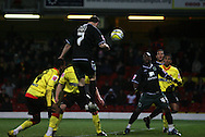 London - Wednesday, December 12th, 2008: Lee Croft of Norwich City scoring the first Norwich goal against Watford during the Coca Cola Championship match at Vicarage Road, London. (Pic by Chris Ratcliffe/Focus Images)