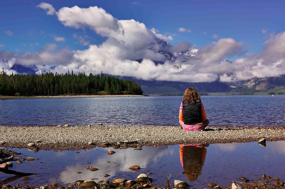 End of Season - Tetons, Jackson Lake, WY