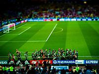 Photographers at work during the FIFA World Cup 2018, Serbia- Brasil.<br /> <br /> VM fotball 2018: Serbia - Brasil. Fotografer på jobb i VM-kampen i fotball mellom Serbia og Brasil på Spartak stadion.