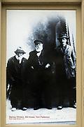 Historic photograph at the North Otago Museum, Oamaru, Otago, South Island, New Zealand