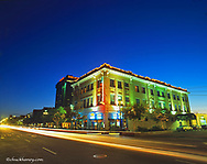 Historic downtown district of Billings, Montana, USA