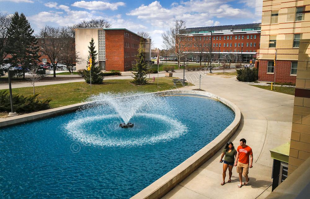 Spring scenics.  Photo by Steve Jessmore/ Central Michigan University