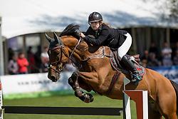 Van de Rijt Teddy, (NED), Lander Z<br /> Nederlands kampioenschap springen - Mierlo 2016<br /> © Hippo Foto - Dirk Caremans<br /> 21/04/16