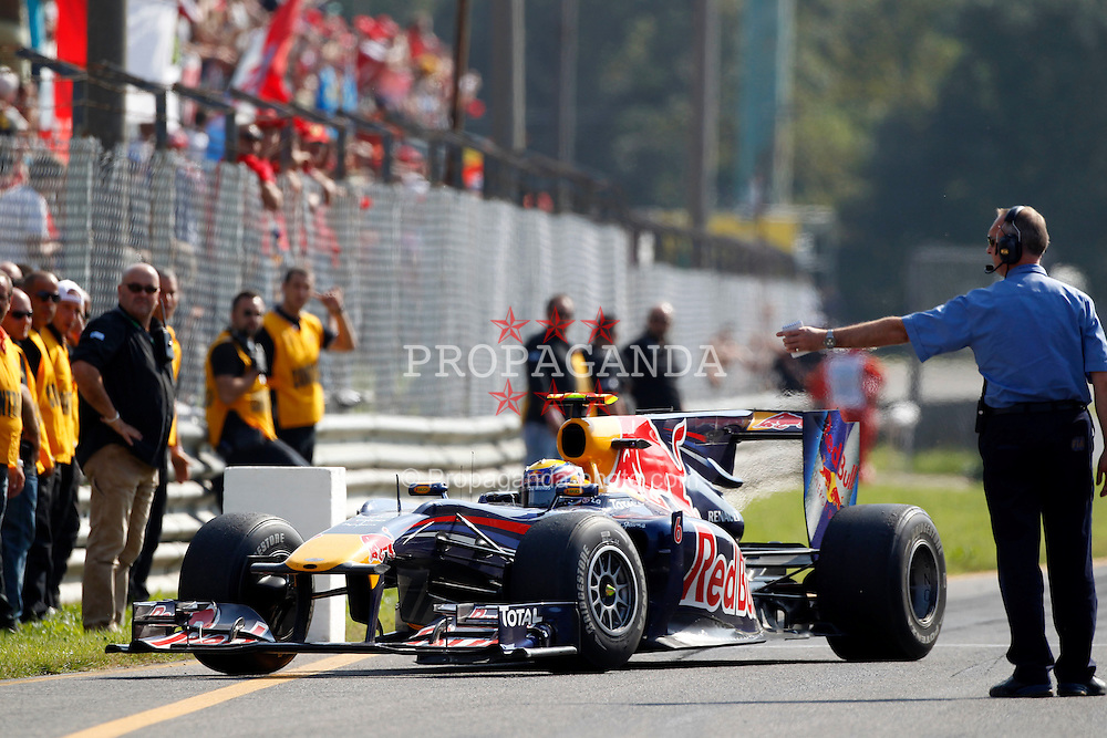 Motorsports / Formula 1: World Championship 2010, GP of Italy, 06 Mark Webber (AUS, Red Bull Racing),