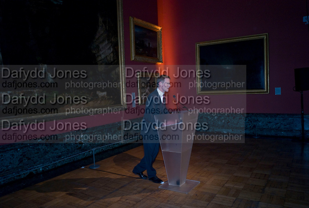 SIR NICHOLAS SEROTA, Van Dyck private view and dinner. Tate Britain. 16 February 2009 *** Local Caption *** -DO NOT ARCHIVE -Copyright Photograph by Dafydd Jones. 248 Clapham Rd. London SW9 0PZ. Tel 0207 820 0771. www.dafjones.com<br /> SIR NICHOLAS SEROTA, Van Dyck private view and dinner. Tate Britain. 16 February 2009