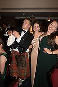 DIGBY WALKER, LOTTIE MURRAY; ALEXANDRA ROGERS, The Royal Caledonian Ball 2015. Grosvenor House. Park Lane, London. 1 May 2015.