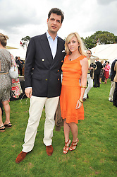 New York socialite Tinsley Mortimer and Prince Casimir zu Sayn-Wittgenstein-Sayn at the 25th annual Cartier International Polo held at Guards Polo Club, Great Windsor Park, Berkshire on 26th July 2009.