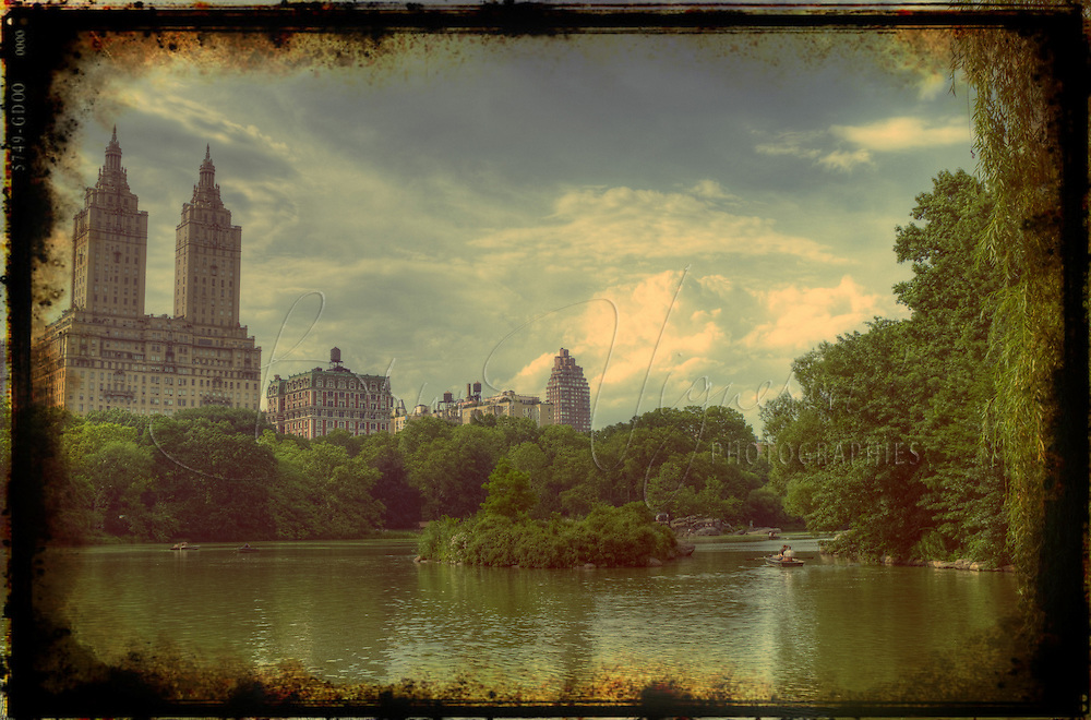 New-York City, Central Park.<br />