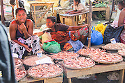 Food market in Madagascar