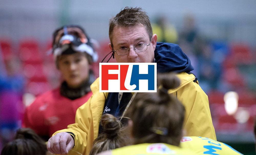 BERLIN - Indoor Hockey World Cup<br /> Australia - Namibia<br /> foto: FENTON Stewart<br /> WORLDSPORTPICS COPYRIGHT FRANK UIJLENBROEK