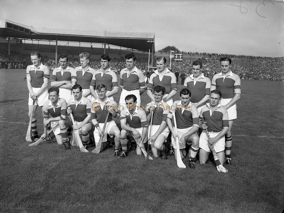 23/09/1956<br /> 09/23/1956<br /> 23 September 1956<br /> All-Ireland Final: Cork v Wexford at Croke Park, Dublin. Wexford Team.