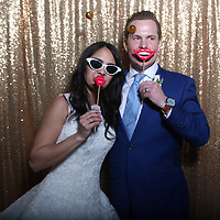 Kyle & Sera Wedding Photo Booth